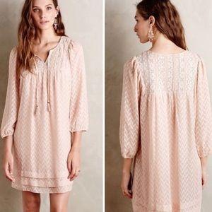 Anthropologie Anwen Peasant Dress - One September